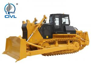 China Cummins Engine Shantui Bulldozer 32000KG Operating Weight 11.9cbm With Rops Cabin, Blade and Ripper wholesale