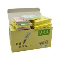 China Custom Die Cut Sticky Notes Cartoon Memo Pad With Paper Card wholesale