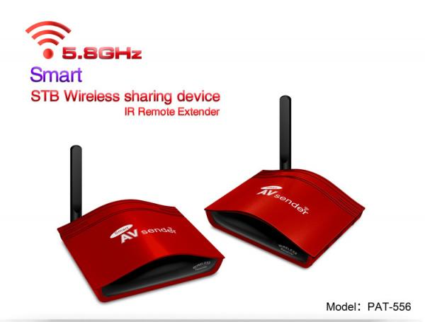 Quality MOST POPULAR 5.8GHZ SMART WIRELESS AV SENDER, DIGITAL AND ANALOG AUDIO VIDEO WIRELESS TRANSMITTER AND RECEIVER for sale