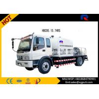 China 100m free pipes Truck Mounted Concrete Pump Max Aggregate Particles Pebble 50 wholesale