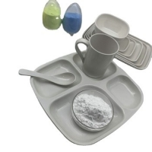 China Plastic Raw Material Melamine Powder For Melamine Formaldehyde Resin on sale