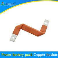 China Big current insulated felxible copper laminated connector, copper foil flexible made in China on sale