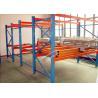 China Galvanized Pallet Racking Weight Capacity 1200Kg Custom Storage Shelving wholesale