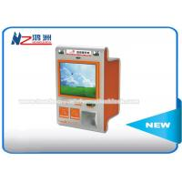 China Touch Screen Multimedia Wall Mount Kiosk With Card Reader And Bill Validator wholesale