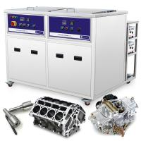 China aircrafts parts cleaning machine 28KHz Cleaning and Drying dual Ultrasonic Cleaning Tank wholesale