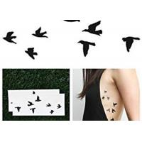 China Butterfly Temporary Lower Back Body Tattoo Stickers For Adults / Children wholesale