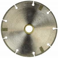 China 4 Inch Diamond Cutting Blade FLAT Tipped Cutting Disc Grinding Wheel Grit 60 Coarse For Angle Grinder wholesale