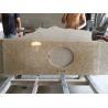 China Natural Granite Stone Tai Giallo Countertops With Backsplacsh Polished wholesale