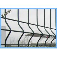 Buy cheap High Security 3D Curved PVC Coated Steel Wire Mesh Protecting Fence Panels from wholesalers