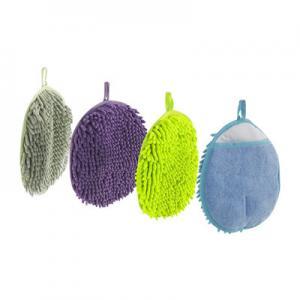 China 22x22 cm Microfiber Car Wash Sponge Eco Friendly Scrubber Cleaning Pad wholesale
