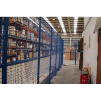 China Steel triangular folding  wire netting fence for production room and storage room wholesale