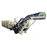 China 3 M3 load hopper hydraulic Mining Concrete Feeder and belt conveying machine For coal ming engineering wholesale