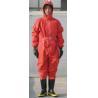 China 化学保護安全スーツ、全面的な防護衣 wholesale