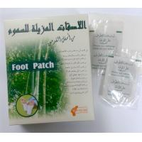 China Kinoki Japanese cleansing bamboo  detox foot patch that take out toxins wholesale