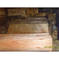 China Yellow Okoume Rotary Cut Veneer For Furniture And Plywood wholesale