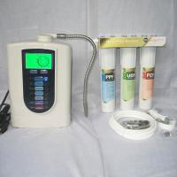 Buy cheap Three Stage Filter Natural Alkaline Water Filter Separates Water Into Alkaline And Acid Water Can For Drinking / Cooking from wholesalers