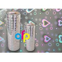 China 3 Inch Core Metalized Polyester Film , Various Color Thermal Lamination Films on sale