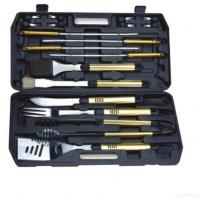 China 18pcs Bbq Tools With Plastic Case Pack wholesale