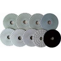 China Quartz Countertop  Ceramic Wet Concrete Hand Polishing Pads Grey Black Flexible wholesale