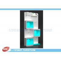 China Books White Wood Display Cases  wholesale