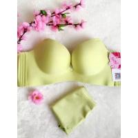 China Health sexy super push up one piece seamless bra with no underwire wholesale