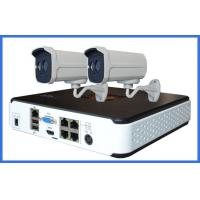 720P POE Bullet Mini Ip Camera CCTV Camera Kits systems For family , community
