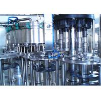 China High Precision Soda Bottling Machine With Plastic Cap In Cola Filling Plant on sale