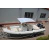 China 28 Ft 850cm Cmポリ塩化ビニールの膨脹可能なボートは、大きいパネルの膨脹可能なボートを日光浴をします肋骨で補強します wholesale