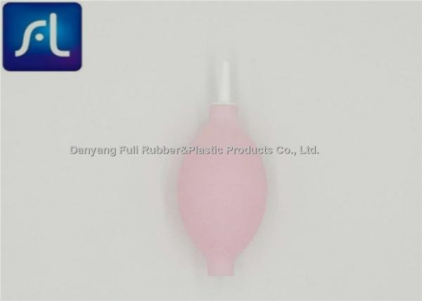 Quality White Plastic Rubber Bulb Syringe , Digital Cleaning Rubber Dust Blower for sale