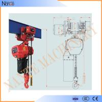 China Remote Control 20 Ton / 30 Ton Electric Chain Hoist With Running H Beam wholesale