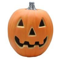 Buy cheap 2019 Halloween toy plastic Jack-o-lantern with light,Decor for halloween,Orange from wholesalers