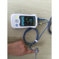 China Audio Multi Parameter Patient Monitor Portable Pulse Oximeter , White wholesale