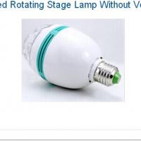 China E27 Type Led Rotating Stage Lamp Without Voice-Activated wholesale