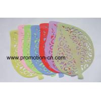 Leaf Shaped Silicone Table Mat