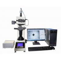 China Automatic Vickers Hardness Testing Machine With Motorized X-Y Anvil / Vickers Software on sale