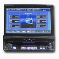 China 7 inch touch screen one din car dvd player built in DVB-T /ISDB-T for all cars wholesale