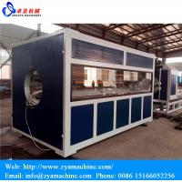 China Professional HDPE Large Diameter Water/Gas Supply Pipe Making Machine wholesale