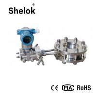 China Differential pressure fuel 4-20mA RS485 orifice plate liquid gas flow meter on sale