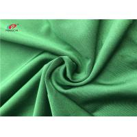 China 4 Way Lycra Dry Fit Swimming Lycra Fabric 90% Polyester 10% Spandex Green Color on sale