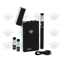 China 90 mAh Black White PCC Electronic Cigarette Starter Kits Easy To Carry wholesale