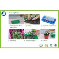 China Black Plastic Seeding Tray Or Propagation Tray PS / PE For Greenhouse wholesale