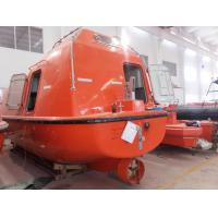 China 25-150 person FRP Lifeboat and Rescue Boat with Davit wholesale