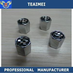 China Inner Tube Car Tire Valve Caps Alloy Wheel Hub Caps Metal Copper Brass wholesale