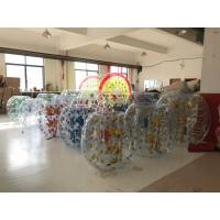 China 1.50M Inflatable Amusement Park Roll Inside Soccer Bumper Knocker Ball Entertainment Game wholesale