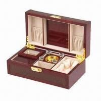 China Wooden Gift Box, 10mm Thickness wholesale
