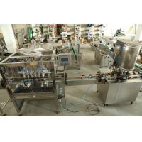 China Stainless Steel Liquid Tin Can Filling Machine For Filling Wine / Vinegar And Medicine wholesale