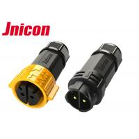 China 600V 20A Waterproof Male Female Connector , Industrial Power Connectors wholesale