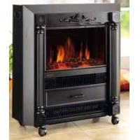 Electric  Fireplace Heater European Mobile type KNSING electric heater with fan fire flame Roman Style Coal log burning