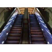 China SUNNY Commercial Escalator 35 Degree 1000mm Step Width Vvvf Control on sale