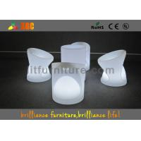 Buy cheap Outdoor / Indoor Modern LED Bar Stools For Events 52cm x 52cm x H 65cm from wholesalers